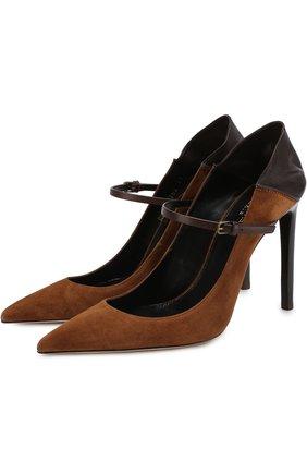 Замшевые туфли Majorelle на шпильке | Фото №1