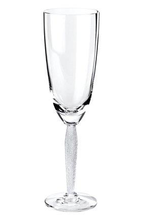 Мужского фужер для шампанского louvre LALIQUE прозрачного цвета, арт. 1589700   Фото 1