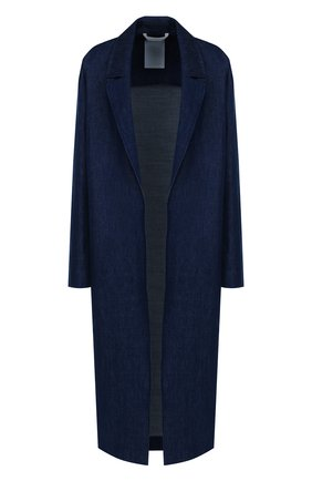Джинсовое пальто свободного кроя | Фото №1