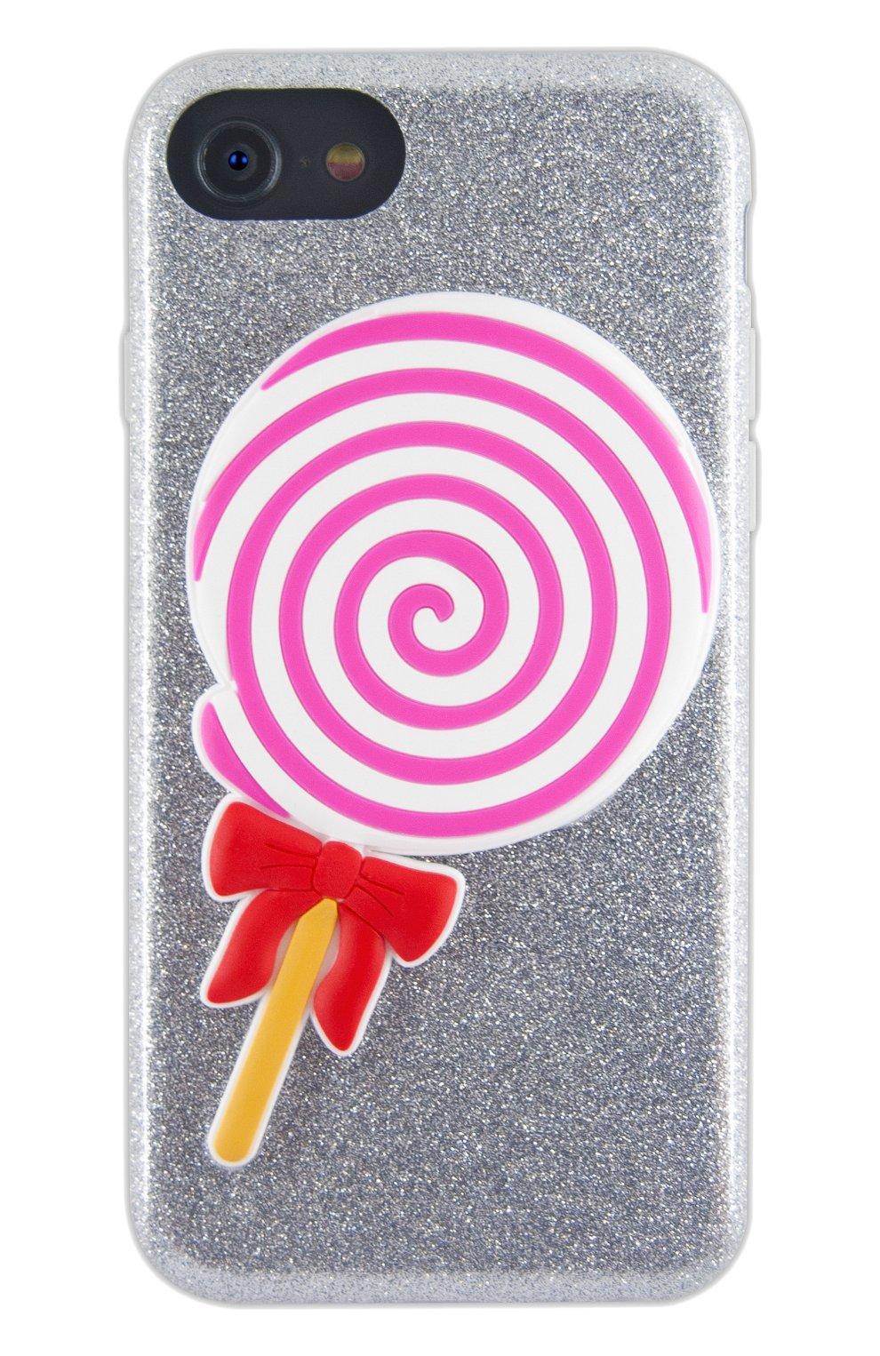 Мужской чехол для iphone 7/8 с аппликацией BENJAMINS разноцветного цвета, арт. BJ8-3DL0L | Фото 1