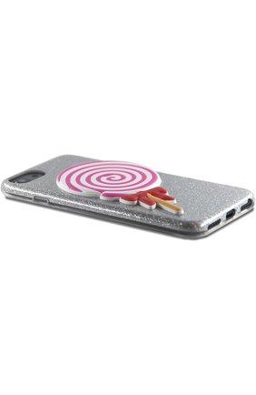 Мужской чехол для iphone 7/8 с аппликацией BENJAMINS разноцветного цвета, арт. BJ8-3DL0L | Фото 2