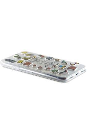 Мужской чехол для iphone x с аппликациями BENJAMINS разноцветного цвета, арт. STX-STKANGEL | Фото 2