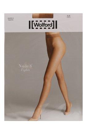 Женские капроновые колготки WOLFORD бежевого цвета, арт. 10272 | Фото 1
