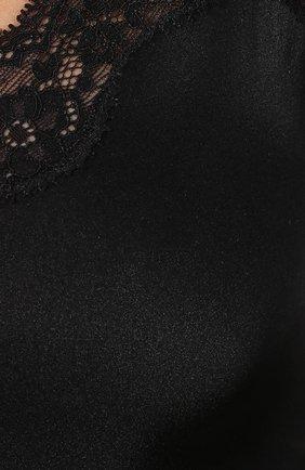 Шелковая сорочка с кружевной отделкой   Фото №5