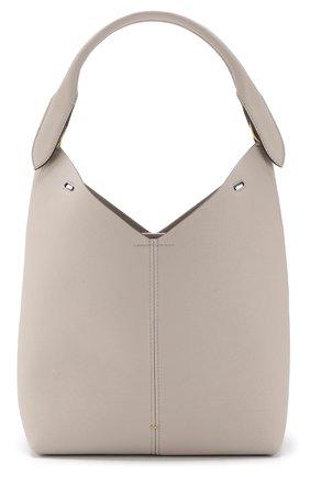 Сумка Small Build a Bag Anya Hindmarch серая цвета | Фото №1