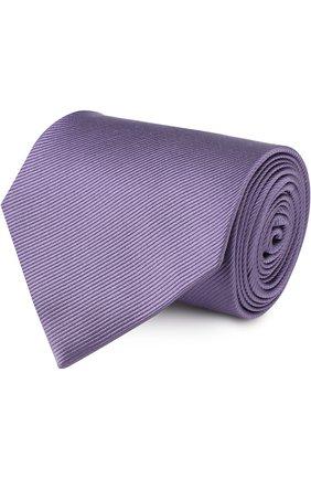 Мужской шелковый галстук TOM FORD сиреневого цвета, арт. 3TF08/XTF   Фото 1