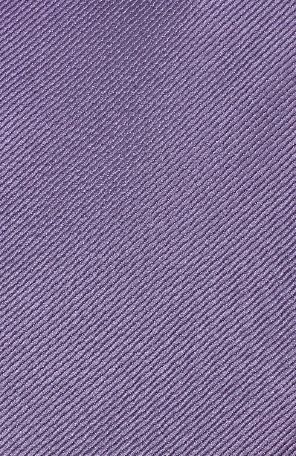 Мужской шелковый галстук TOM FORD сиреневого цвета, арт. 3TF08/XTF   Фото 3