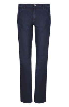 Мужские джинсы прямого кроя ZILLI темно-синего цвета, арт. MCP-00232-DEUL1/R002 | Фото 1