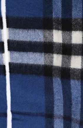 Детский кашемировый шарф BURBERRY синего цвета, арт. 3998920   Фото 2