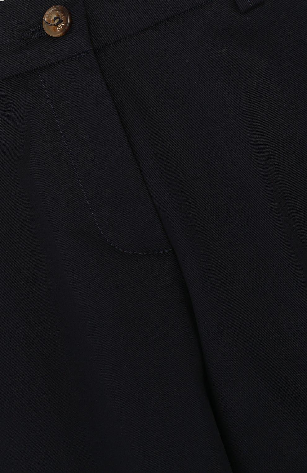 Детские хлопковые кюлоты NO. 21 синего цвета, арт. 08 X/K200/8007/34-44 | Фото 3