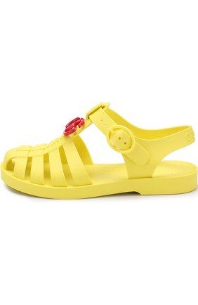 Детские сандалии GUCCI желтого цвета, арт. 500887/J8700 | Фото 2