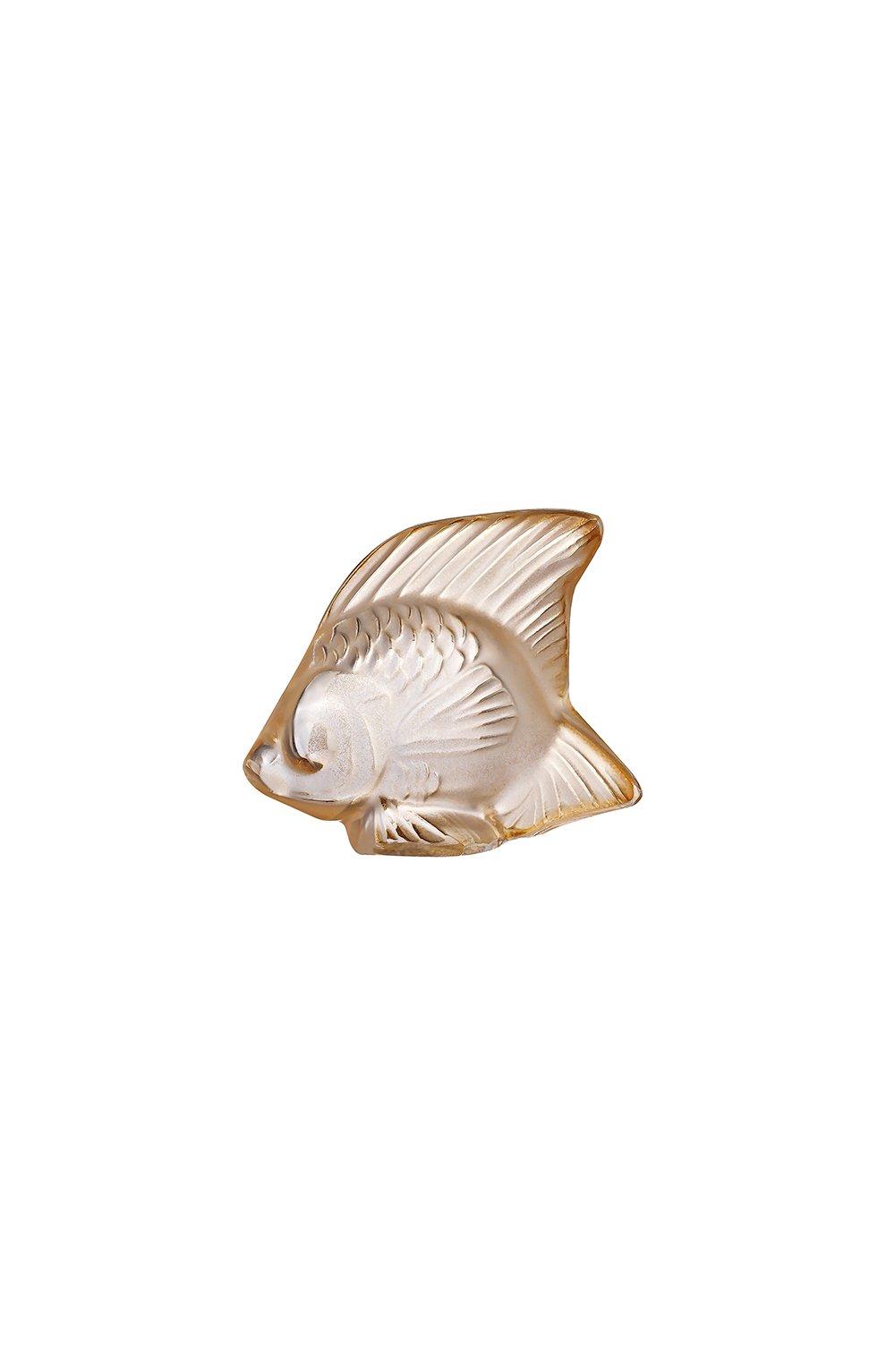 Мужского фигурка fish LALIQUE золотого цвета, арт. 10543400 | Фото 1