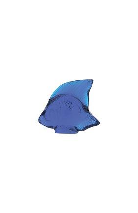 Фигурка fish LALIQUE синего цвета, арт. 3002100 | Фото 1