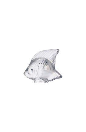 Мужского фигурка fish LALIQUE прозрачного цвета, арт. 3000000 | Фото 1