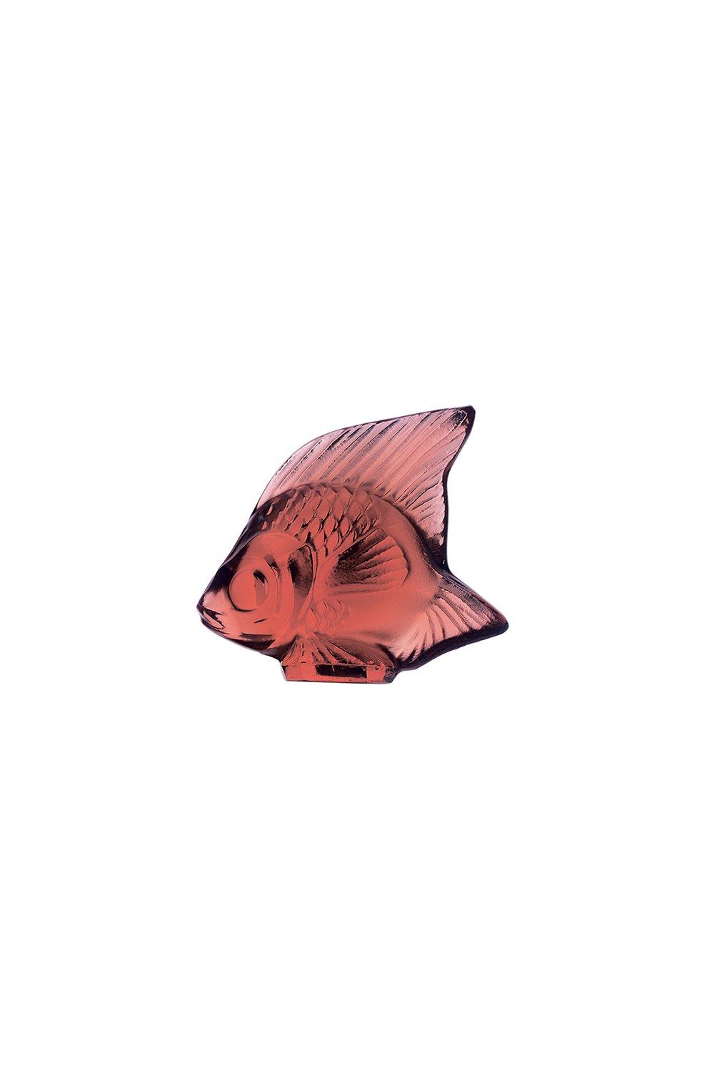 Мужского фигурка fish LALIQUE красного цвета, арт. 3003100 | Фото 1