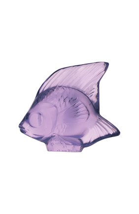 Мужского фигурка fish LALIQUE фиолетового цвета, арт. 3003000 | Фото 1
