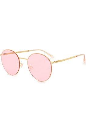 Солнцезащитные очки Mykita светло-розовые | Фото №1