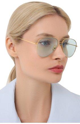 Женские солнцезащитные очки CUTLERANDGROSS золотого цвета, арт. 1266GPL/DPLBL | Фото 2