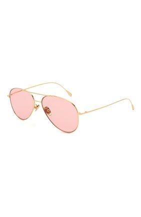 Женские солнцезащитные очки CUTLERANDGROSS золотого цвета, арт. 1266GPL/DPPI | Фото 1