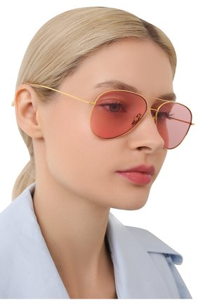 Женские солнцезащитные очки CUTLERANDGROSS золотого цвета, арт. 1266GPL/DPPI | Фото 2