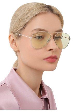 Женские солнцезащитные очки CUTLERANDGROSS светло-зеленого цвета, арт. 1266PPL/DPGN | Фото 2
