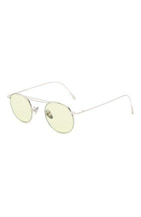 Женские солнцезащитные очки CUTLERANDGROSS светло-зеленого цвета, арт. 1268PPL/DPGN | Фото 1