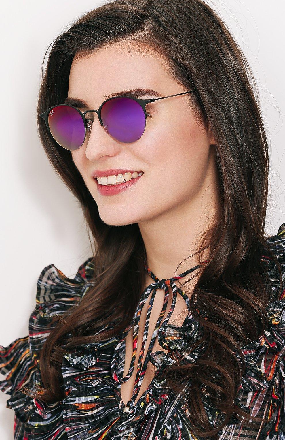 Солнцезащитные очки Ray-Ban разноцветные | Фото №2