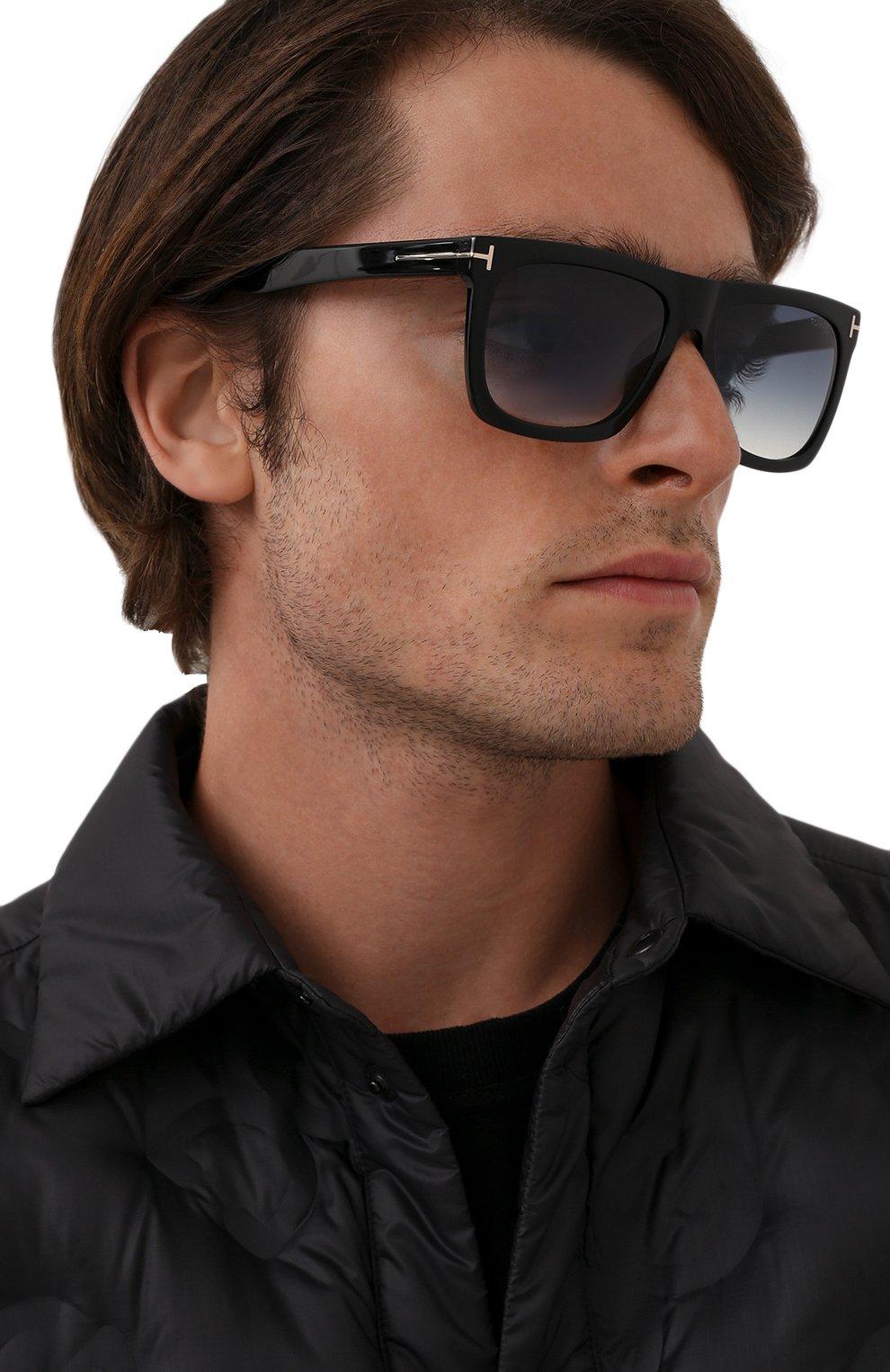 Мужские солнцезащитные очки TOM FORD черного цвета, арт. TF513 01W | Фото 2