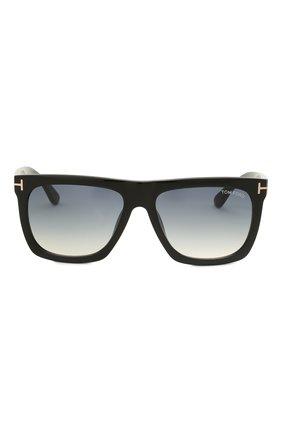 Мужские солнцезащитные очки TOM FORD черного цвета, арт. TF513 01W | Фото 3