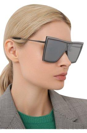 Женские солнцезащитные очки CHRISTIAN ROTH серого цвета, арт. VENTRIL0QUIST/00058 | Фото 2