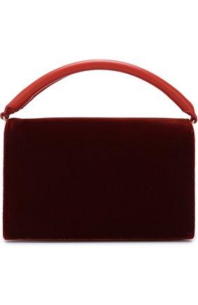 Сумка Bonne Soirée Diane Von Furstenberg бордовая цвета   Фото №1