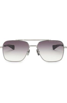 Мужские солнцезащитные очки DITA серебряного цвета, арт. FLIGHT-SEVEN/01 | Фото 2