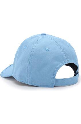 Хлопковая бейсболка Bogner светло-голубого цвета | Фото №1