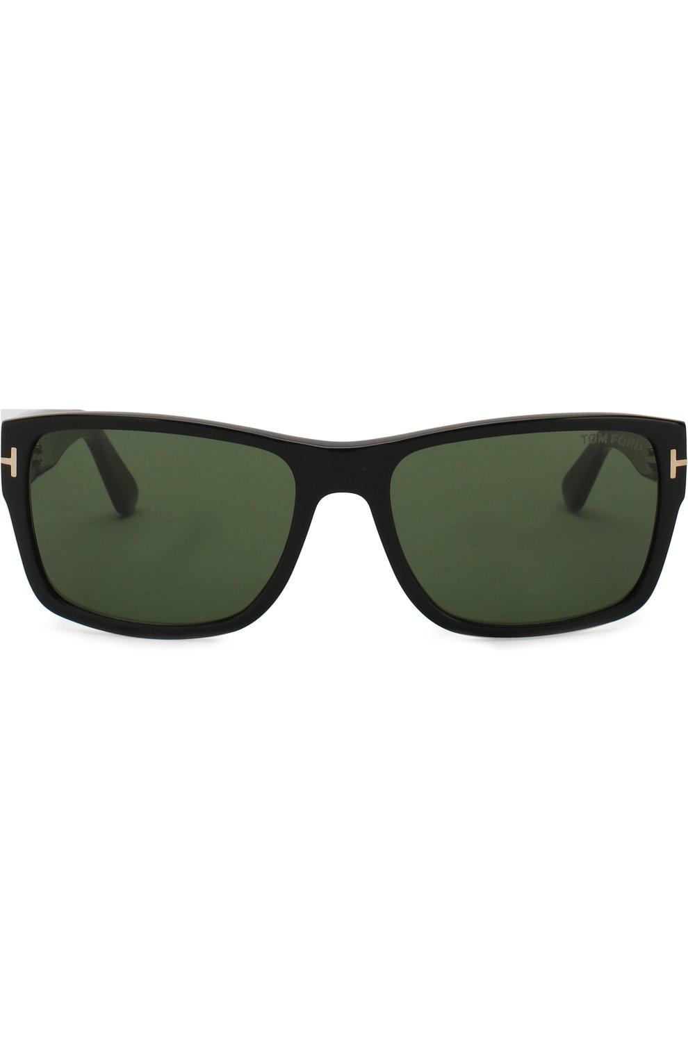 Мужские солнцезащитные очки TOM FORD черного цвета, арт. TF445 01N   Фото 2