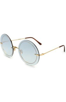 Женские солнцезащитные очки SPEKTRE голубого цвета, арт. NARCIS0 02BFT | Фото 1