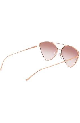 Солнцезащитные очки Prada золотые   Фото №4