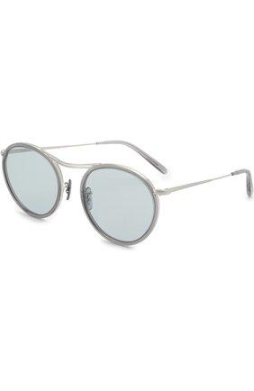 Солнцезащитные очки Oliver Peoples светло-серые | Фото №1