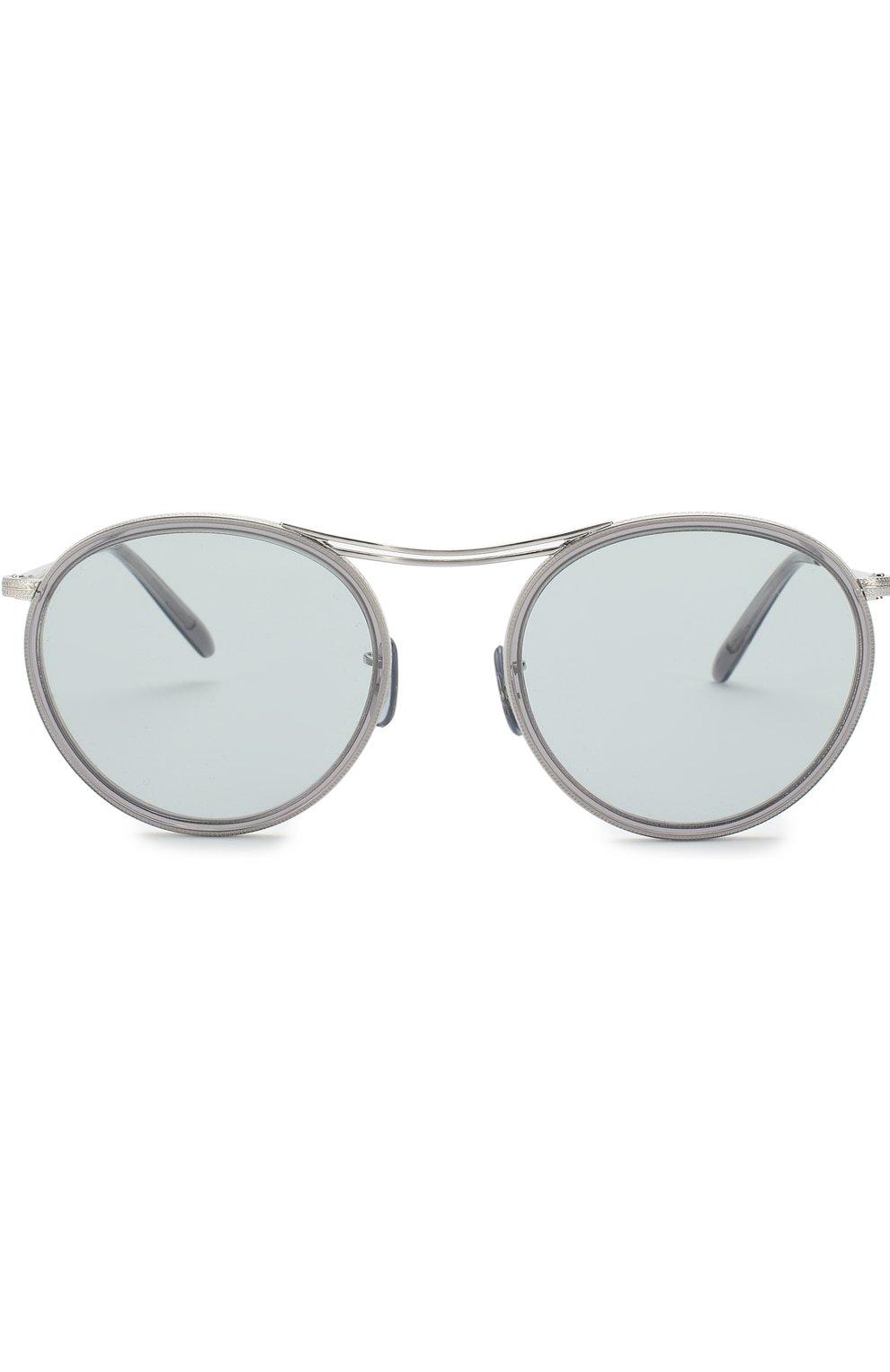 Солнцезащитные очки Oliver Peoples светло-серые | Фото №3