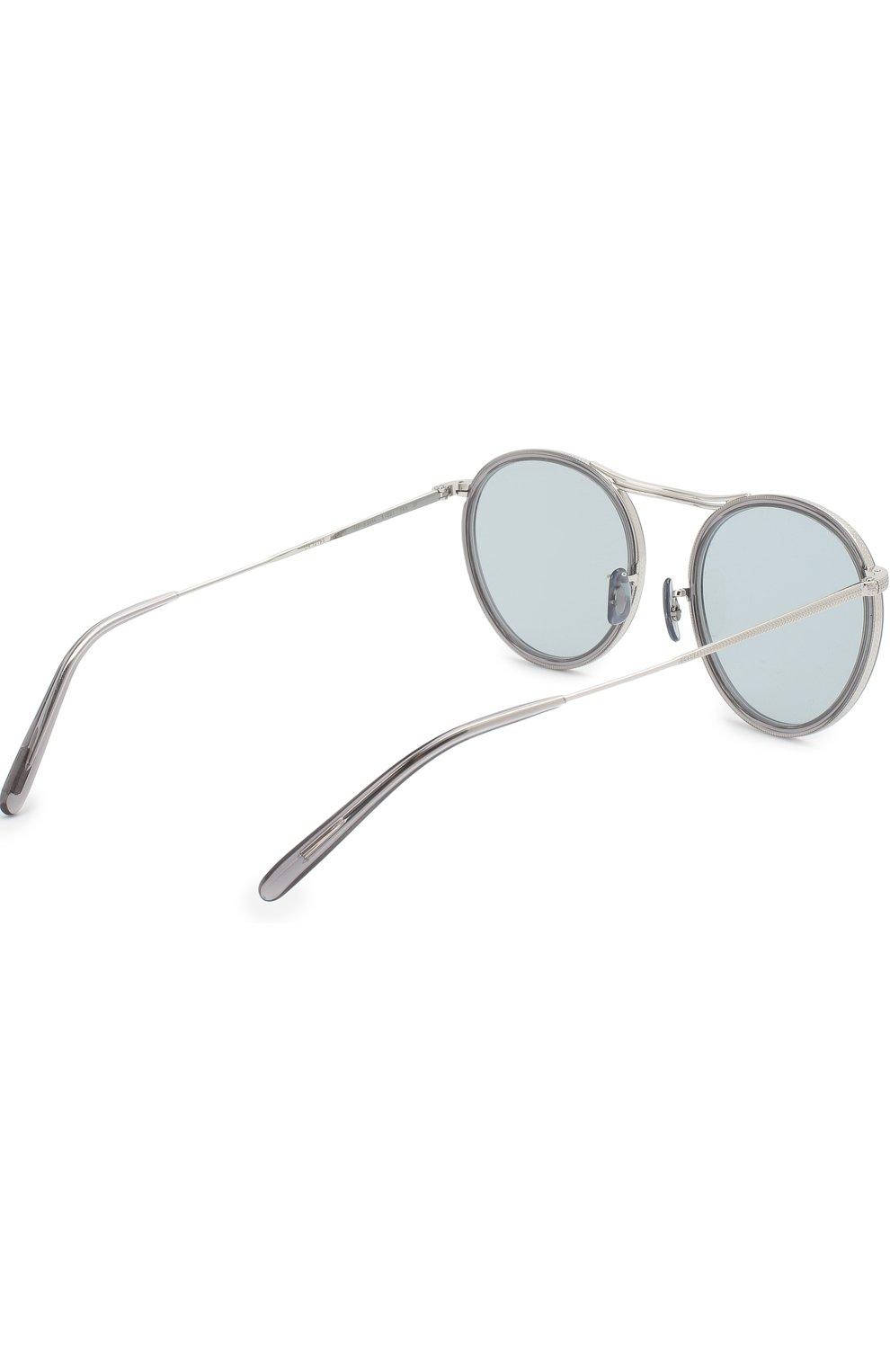 Солнцезащитные очки Oliver Peoples светло-серые | Фото №4