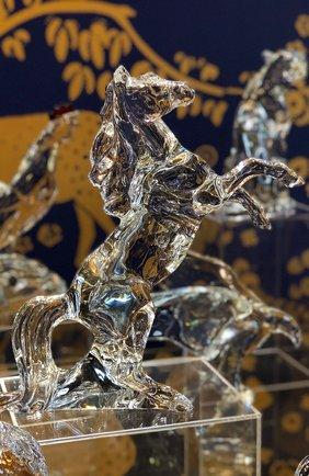 Мужского скульптура marengo horse BACCARAT прозрачного цвета, арт. 2 812 275 | Фото 2