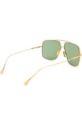 Женские солнцезащитные очки DITA золотого цвета, арт. FLIGHT.005/7805D | Фото 3