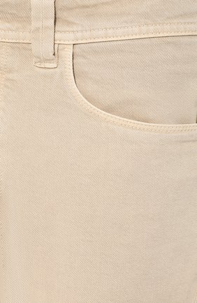 Мужские джинсы LORO PIANA светло-бежевого цвета, арт. FAG1329 | Фото 5