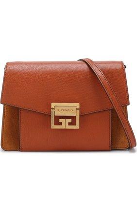 Женская сумка gv3 small GIVENCHY темно-коричневого цвета, арт. BB501CB033   Фото 5