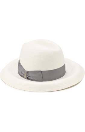 Соломенная шляпа с лентой | Фото №1