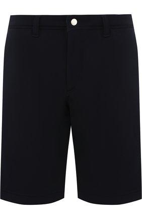 Хлопковые шорты с карманами Bogner темно-синие | Фото №1