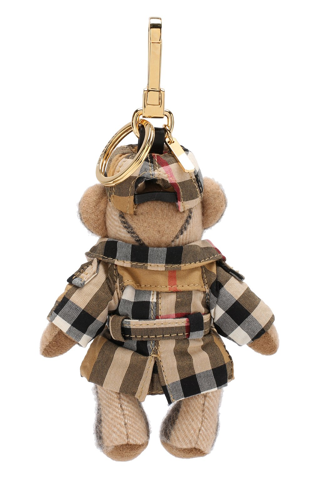 Брелок Thomas Bear в тренче в клетку Vintage Check Burberry бежевый   Фото №2