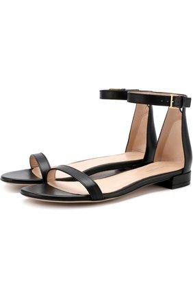 Кожаные сандалии Nudist   Фото №1