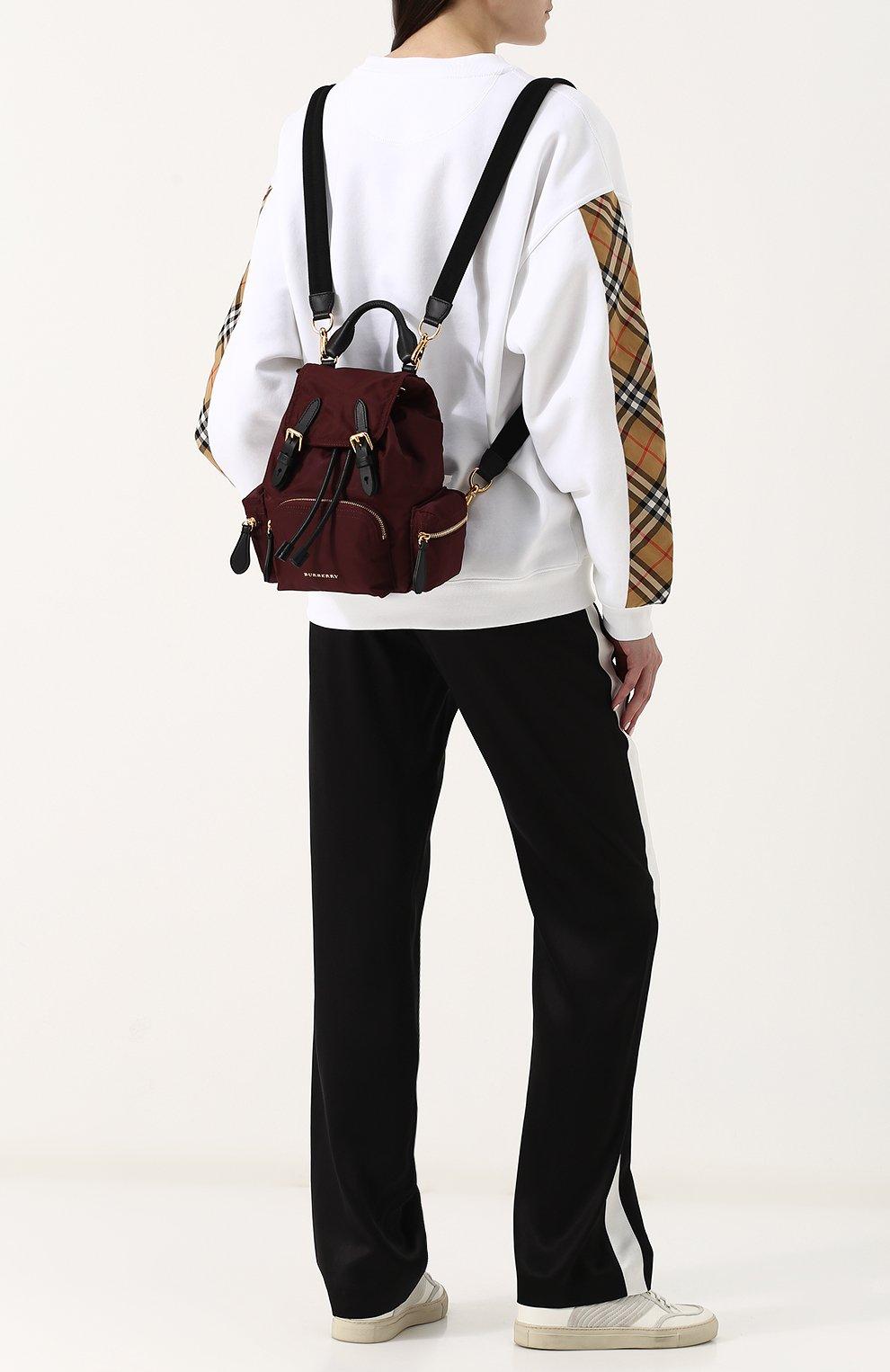 Рюкзак Rucksack small с кожаной отделкой | Фото №2