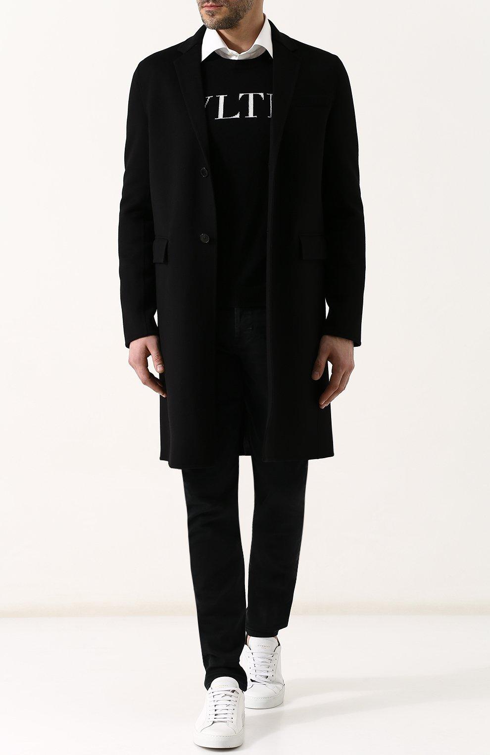 Джинсы прямого кроя Hudson черные | Фото №2