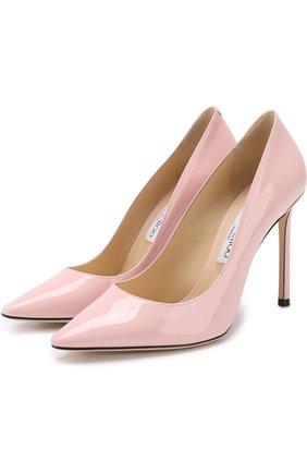 Лаковые туфли Romy 100 на шпильке | Фото №1